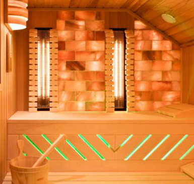 16 sq. ft. Himalayan Salt Sauna Wall Blocks