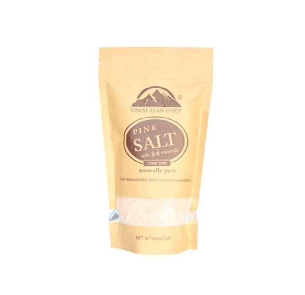 1lb Bag Gourmet Himalayan Sea Salt - Fine