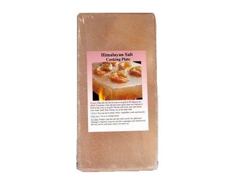 "Set Of 6 - 8"" x 4"" x 1"" Himalayan Salt Plates"