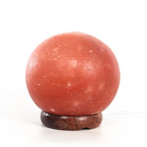 Himalayan Salt Crystal Globe Lamp - 4