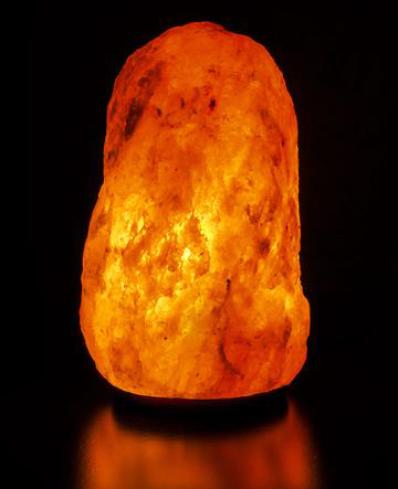 Natural Himalayan Salt Crystal Lamp - 15-20lbs