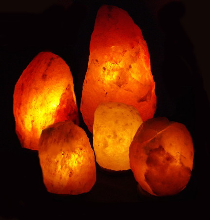 One Living Room, One Smaller Room and Three Bedrooms Salt Lamp Pack