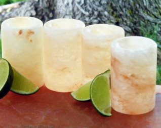 Himalayan Salt Shot Glasses - Set of 2