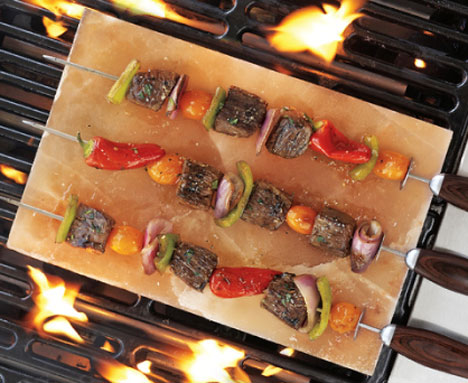 Himalayan Salt Grill Blocks Cooking Serving Tiles