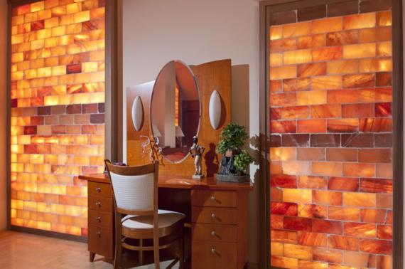 Himalayan Salt Bedrooms