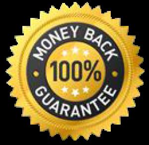 100%  30 Day Money Back Guarantee